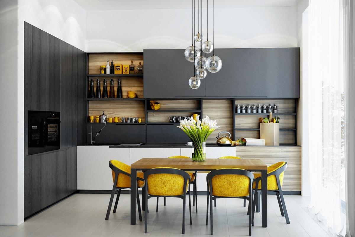 phòng bếp đẹp, hiện đại