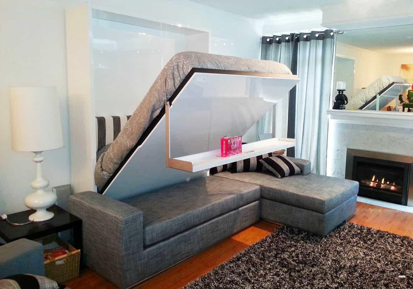 nội thất thông minh giường kết hợp sofa