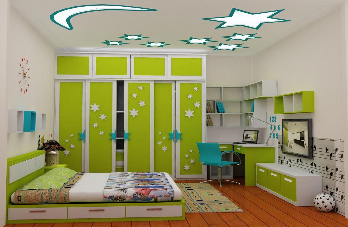 mẫu phòng ngủ cho trẻ em đẹp