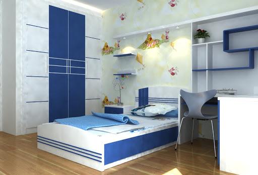 mẫu nội thất phòng ngủ trẻ em đẹp, hợp phong thủy