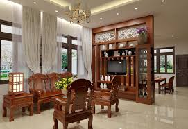 nội thất phòng khách đẹp bằng gỗ tự nhiên cao cấp
