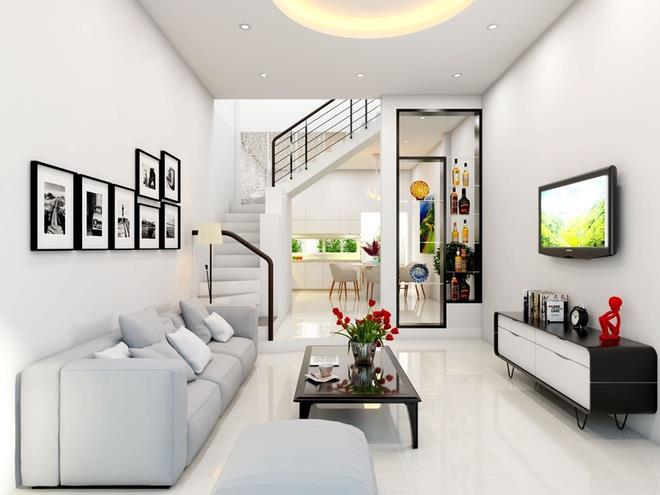 phòng khách nhỏ đẹp hiện đại