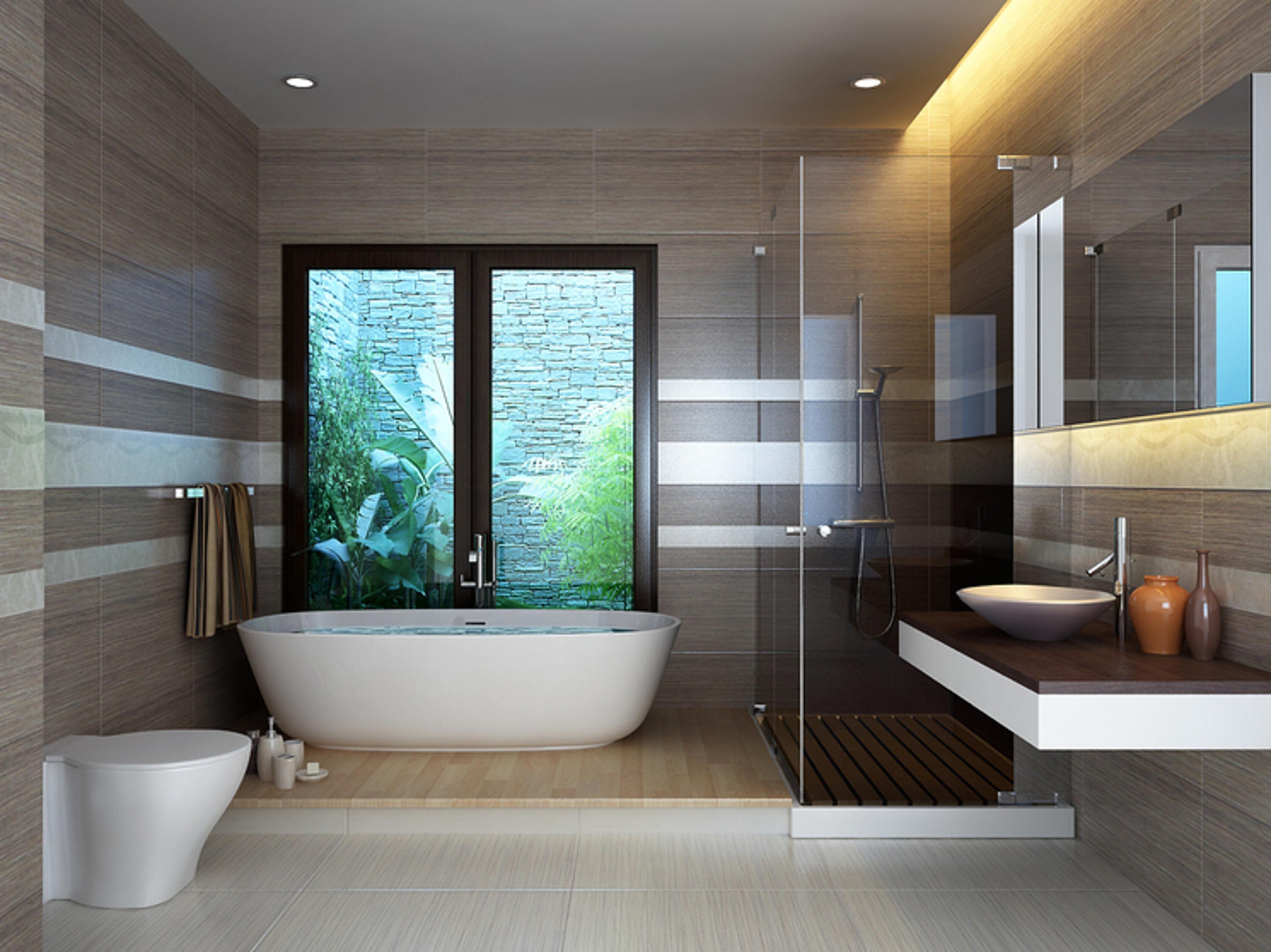 mẫu nhà vệ sinh đẹp, hiện đại