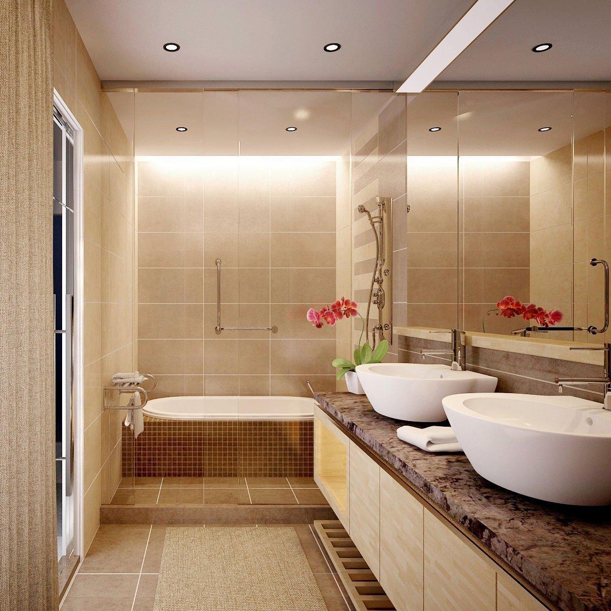 phòng tắm đẹp, sang trọng, ấn tượng