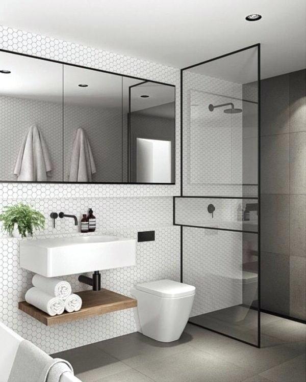 phòng tắm nhỏ đẹp, hiện đại