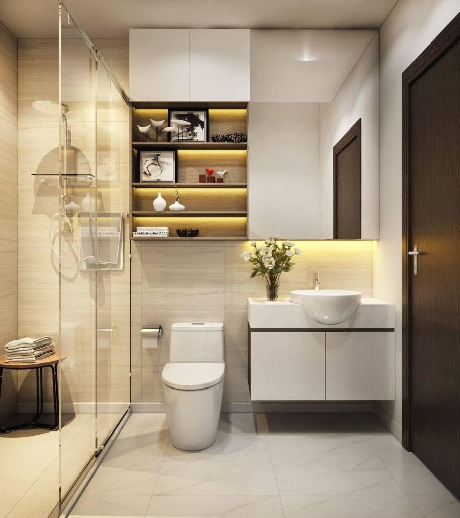 mẫu nhà vệ sinh đẹp, hợp phong thủy