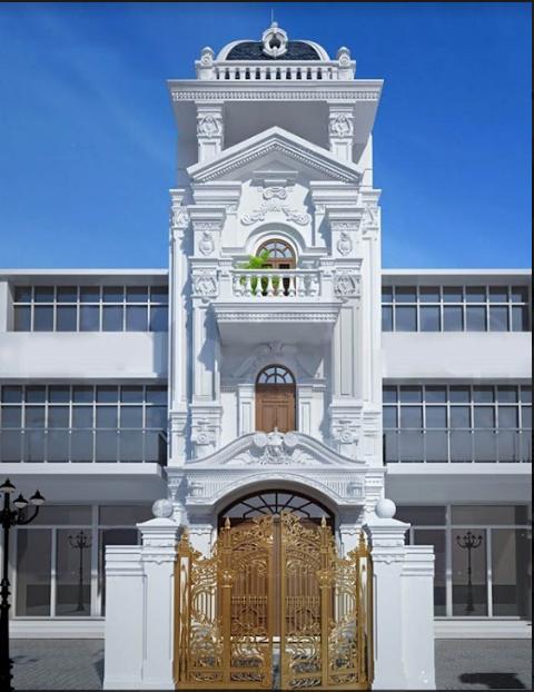 Nhà phố tân cổ điển