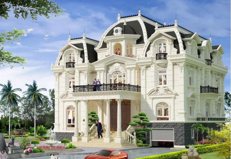 xây nhà biệt thự